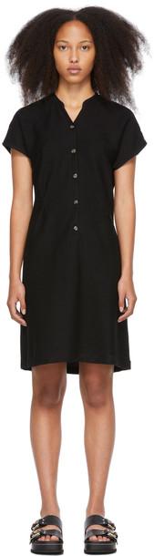 A.P.C. A.P.C. Black Cotton Nico Dress