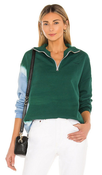 LEVI'S Yesterday's Sweatshirt in Green in blue