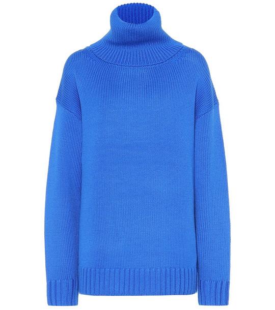 Joseph Sloppy Joe wool sweater in blue