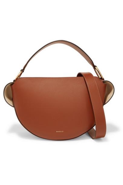 Wandler - Yara Leather Shoulder Bag - Tan