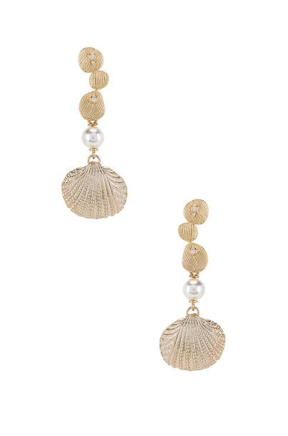joolz by Martha Calvo Shelbourne Earrings in gold / metallic