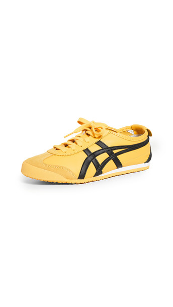 Asics Mexico 66 Sneakers in black / yellow