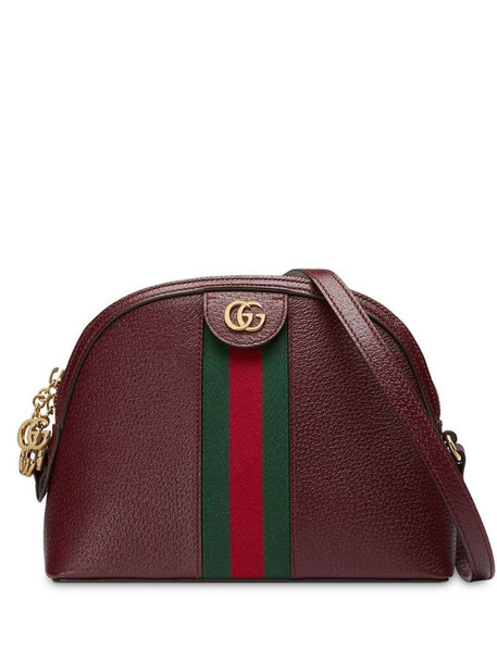 Gucci Ophidia small shoulder bag in red