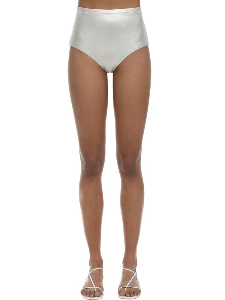 ARABELLA LONDON High Waist Shimmery Bikini Bottoms