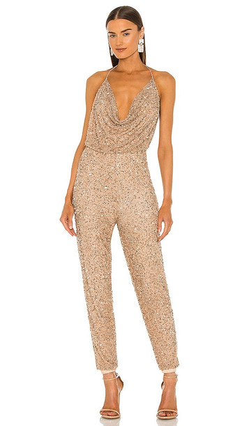 retrofete x REVOLVE Skylar Jumpsuit in Metallic Gold
