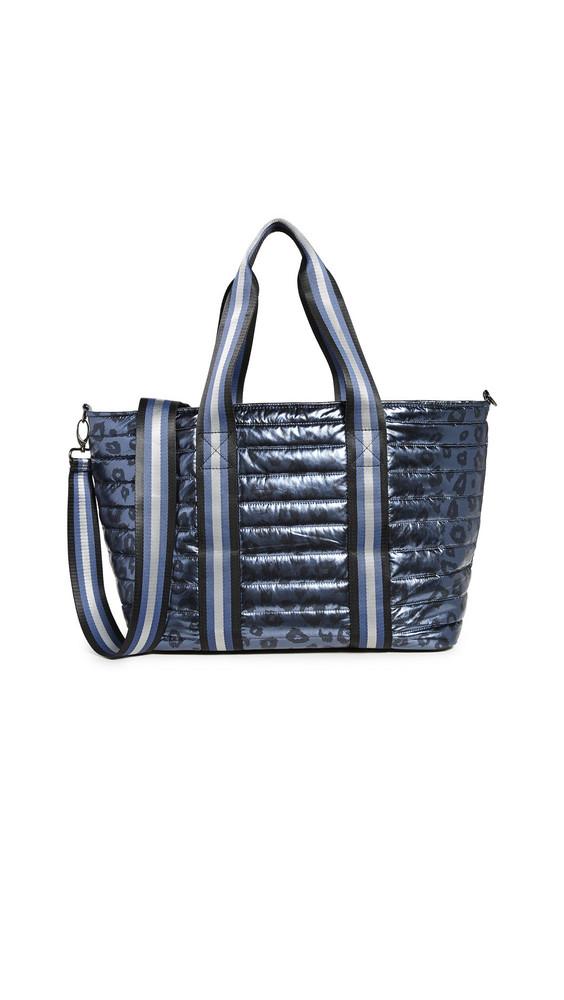 Think Royln Wingman Bag in blue / leopard