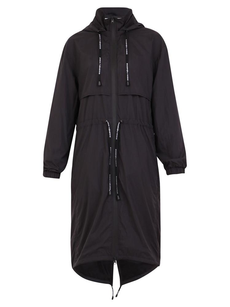 Paco Rabanne Trench Coat in black