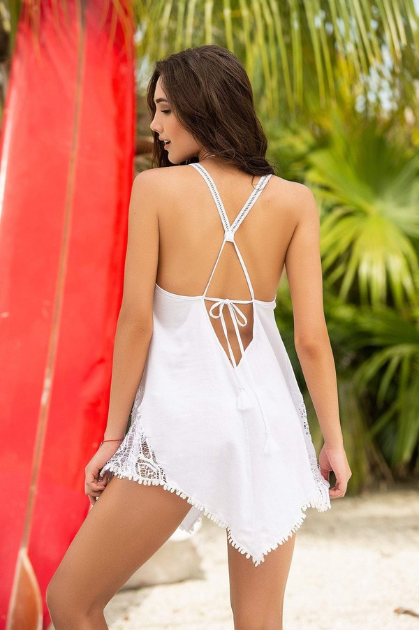 dress white cover up white tunic white tunic dress sexy beach cover up