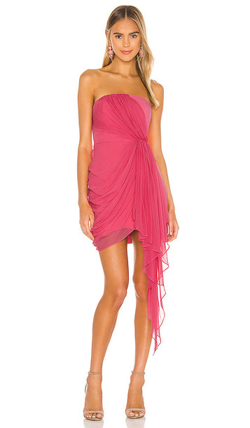 Cinq a Sept Yuki Dress in Fuchsia