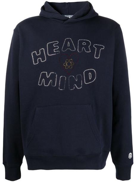 Billionaire Boys Club slogan-print hoodie