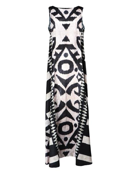 Afroditi Hera Kaftan Dress in multi