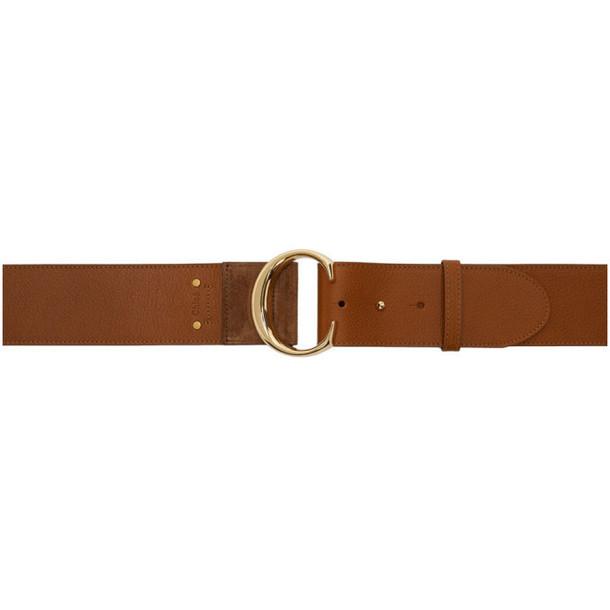 Chloé Chloé Brown Wide Belt