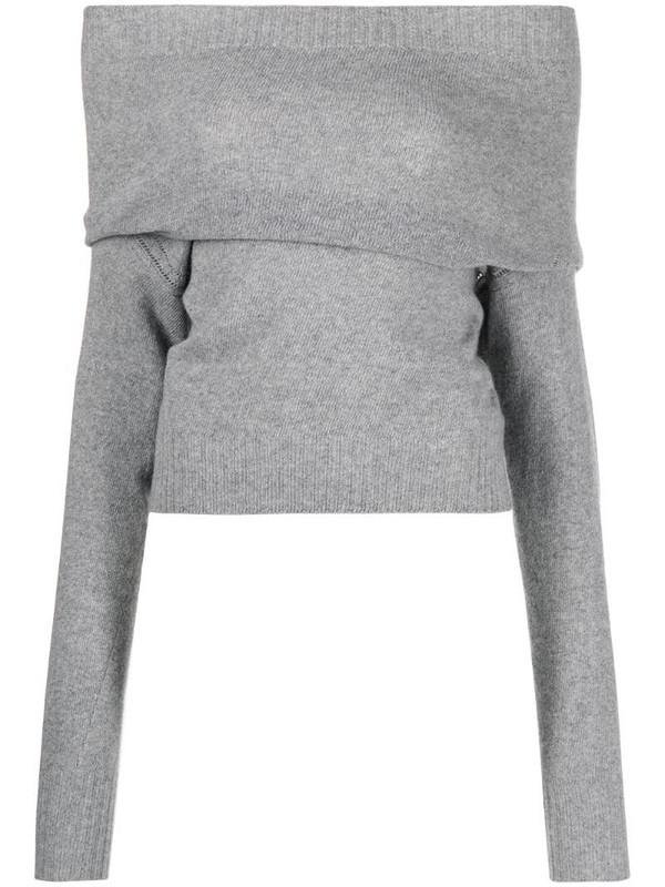 Philosophy Di Lorenzo Serafini cowl-neck jumper in grey
