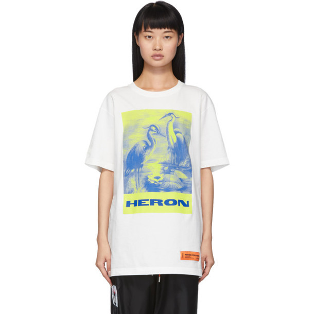 Heron Preston Off-White Heron Painting T-Shirt