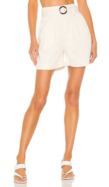 Boyish The Leon Short in Ivory in natural