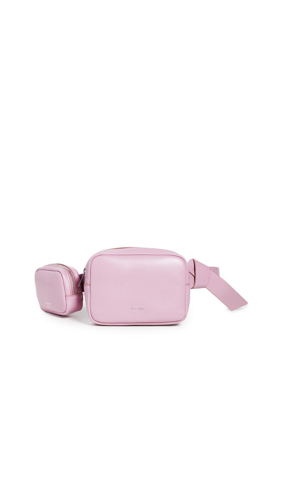 Acne Studios Musubi Belt Pouches in pink