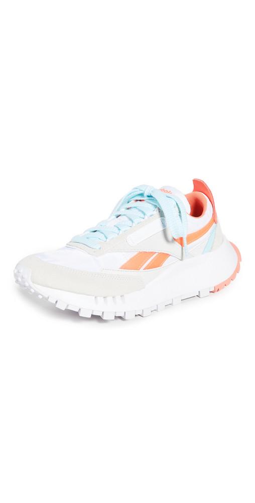 Reebok Classic Legacy Sneakers in orange / white