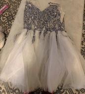 dress,ceremony,sequin dress,sequins,pretty,princess wedding dresses