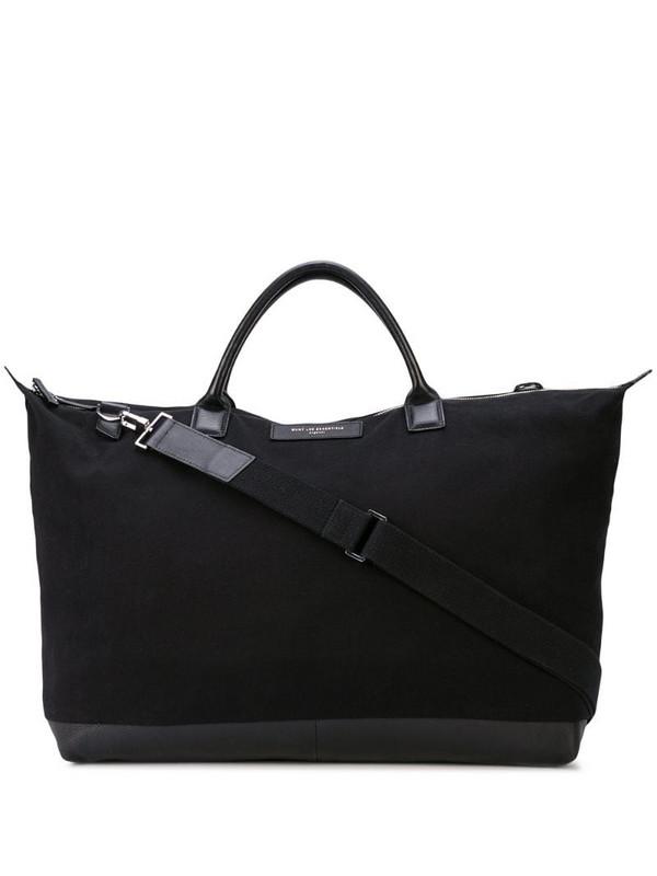 WANT Les Essentiels Hartsfield Weekender tote bag in black