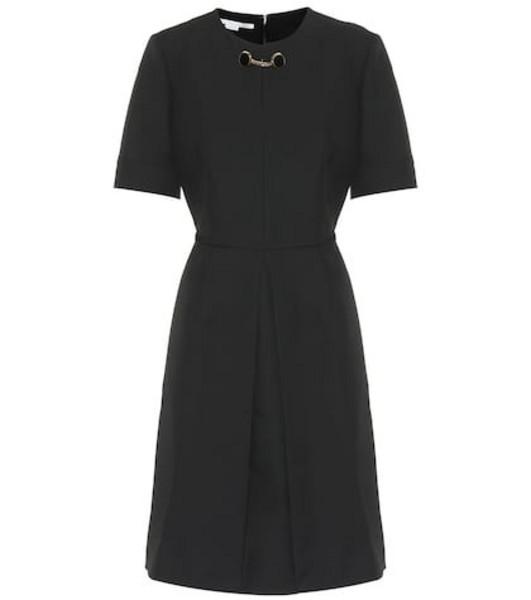 Stella McCartney Wool-blend dress in black