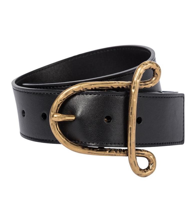 Altuzarra Leather belt in black