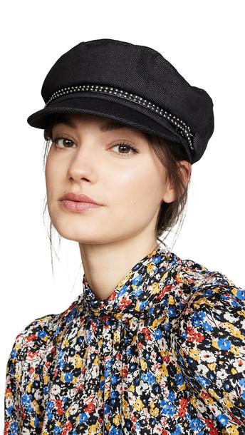 Eugenia Kim Genia Jessa Hat in black