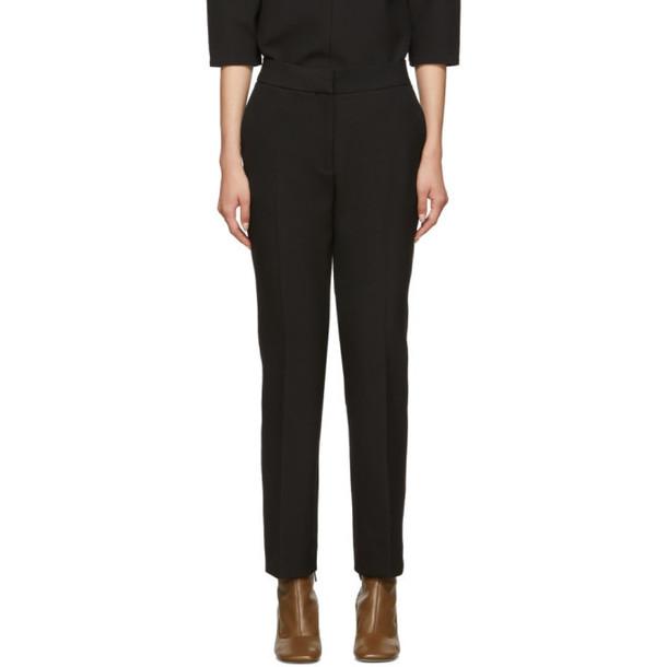 Victoria Victoria Beckham Black Cigarette Trousers