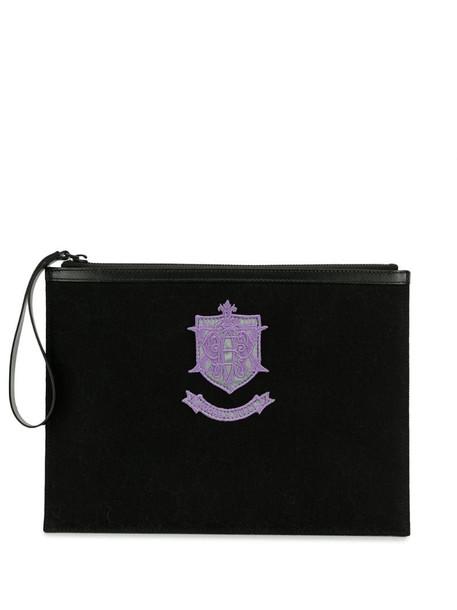 Emilio Pucci x Koché EPK monogram clutch bag in black