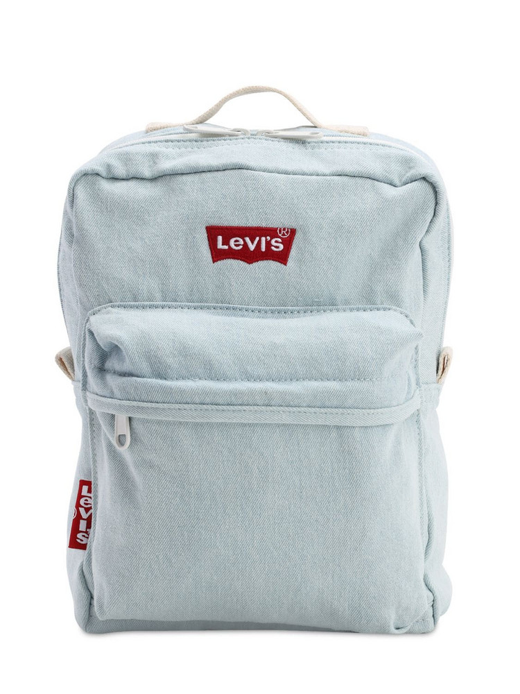 LEVI'S RED TAB The Levi's L Pack Baby Backpack in blue