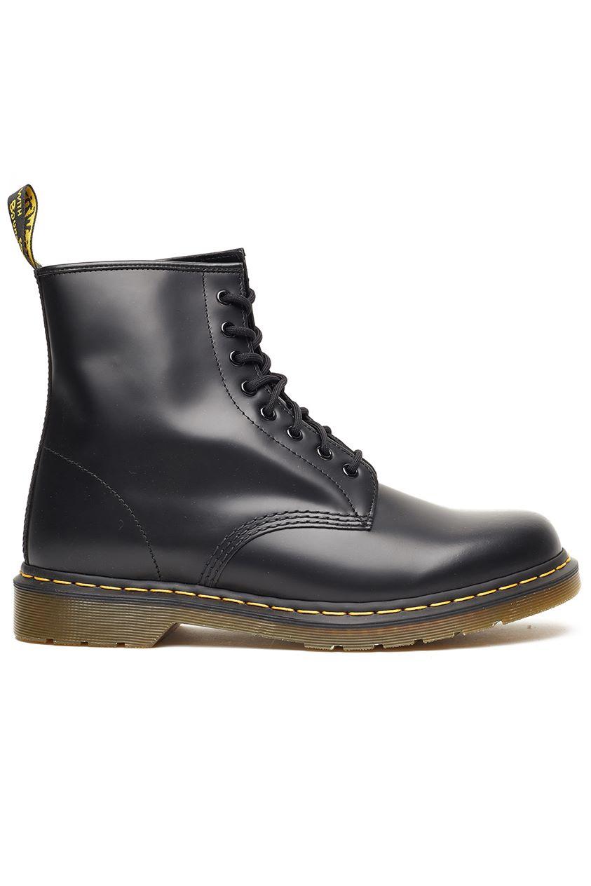 Dr Martens Mens 1460 8 Eye Boot Black Smooth