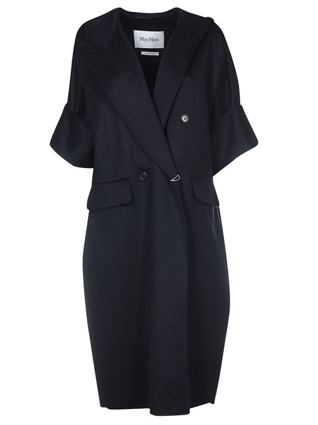 Max Mara Primavera Pelago Coat in black