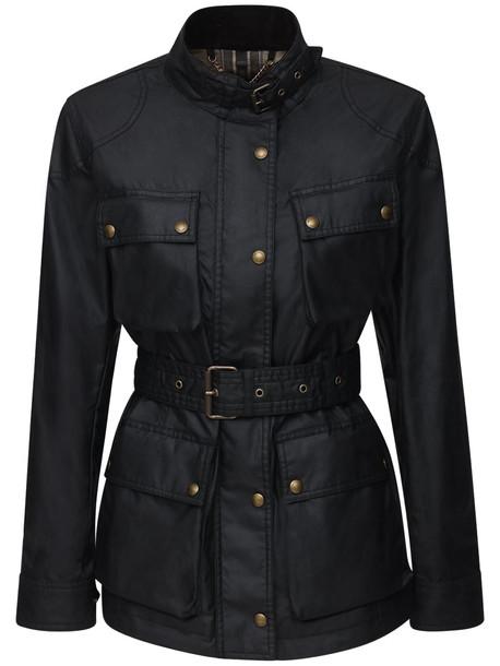 BELSTAFF Trialmaster Waxed Cotton Jacket in black