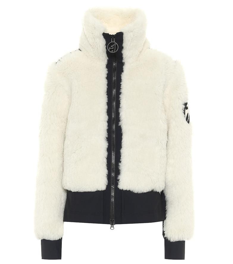Toni Sailer Rika virgin wool-blend jacket in white