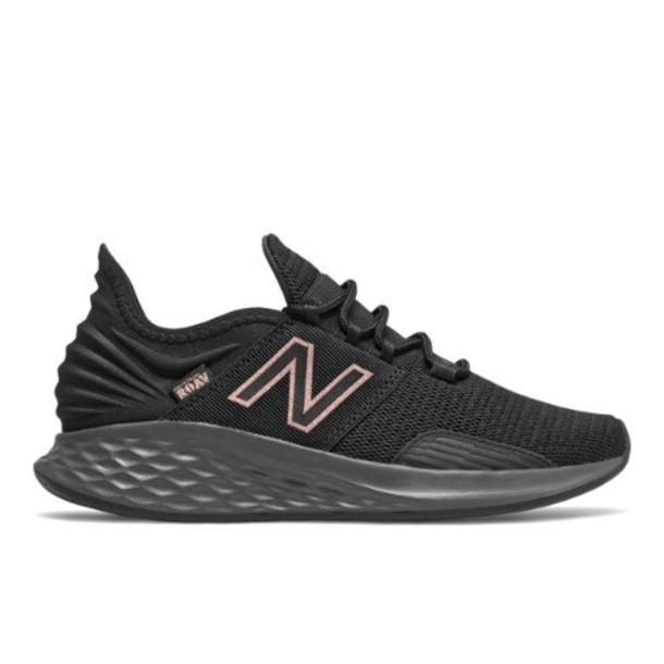 New Balance Fresh Foam Roav Women's Neutral Cushioned Shoes - Grey/Black/Pink (WROAVLK)