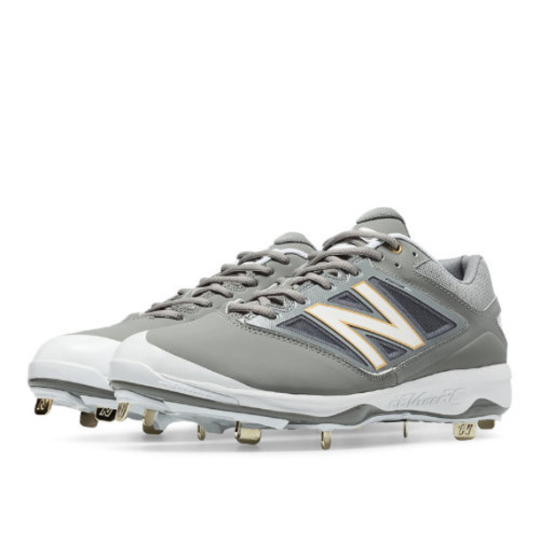 New Balance Metal 4040v3 Men's Recently Reduced Shoes - Grey/White (L4040GW3)