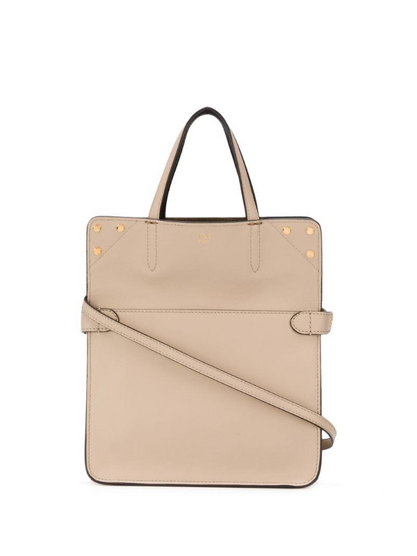 Fendi Flip shoulder bag in neutrals