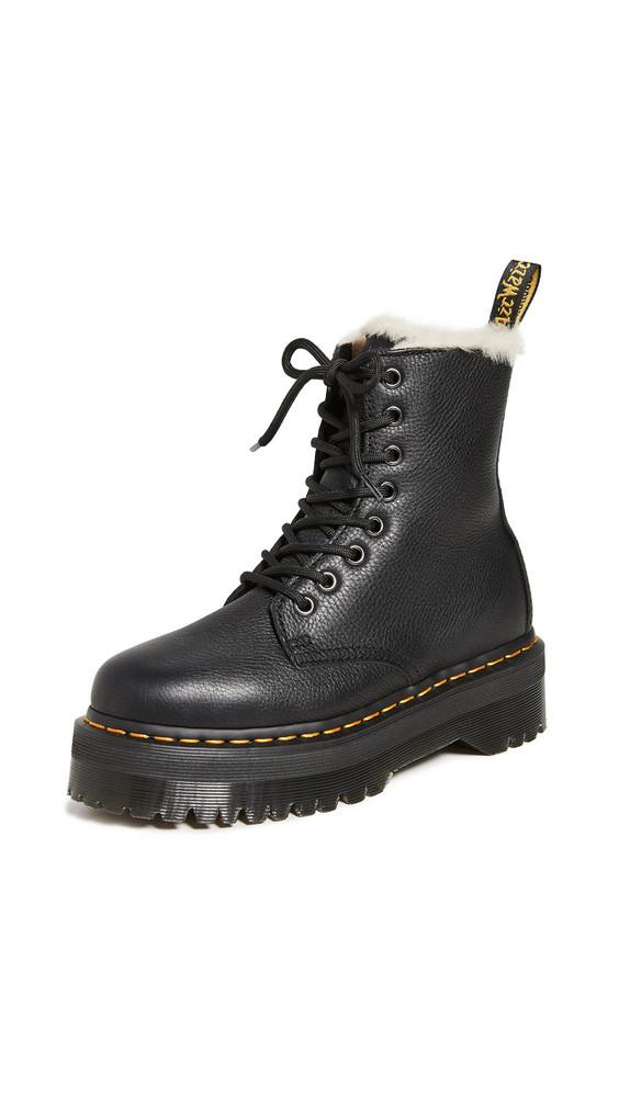 Dr. Martens Jadon FL 8 Eye Boots in black