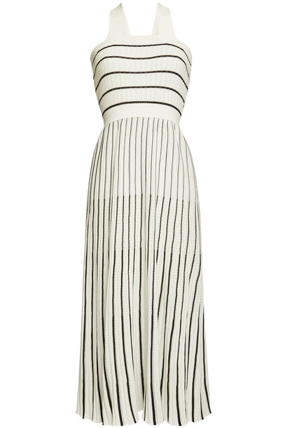 Sonia Rykiel Striped Cotton Maxi Dress