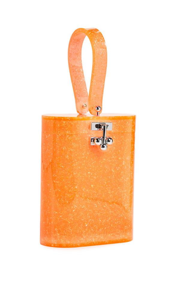 Edie Parker Oval Bag in orange