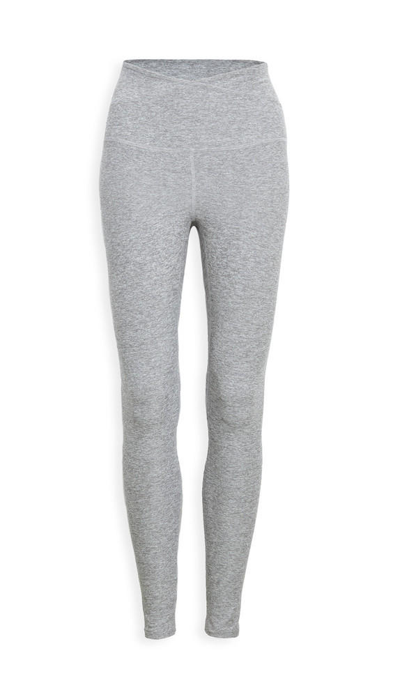 Beyond Yoga At Your Leisure Leggings in silver