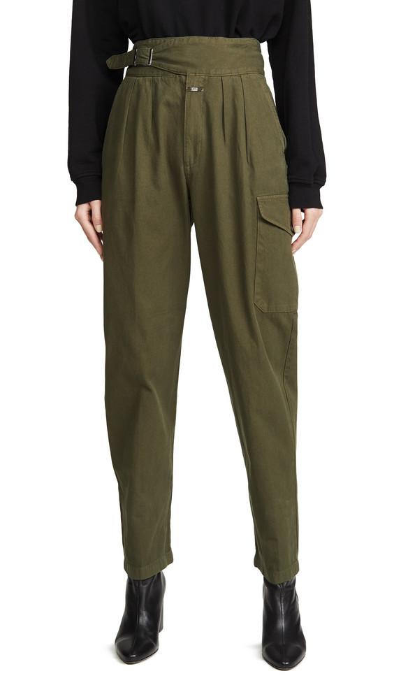 Closed Gwen Pants in green