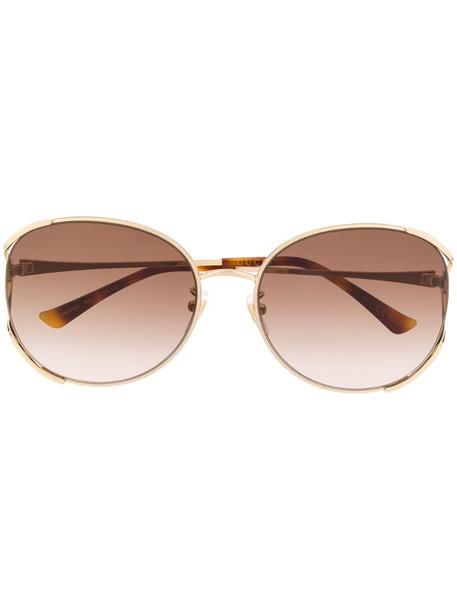 Gucci Eyewear GG0650SK soft-round sunglasses in brown