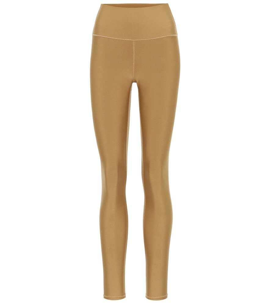 Alo Yoga Airlift high-rise leggings in yellow