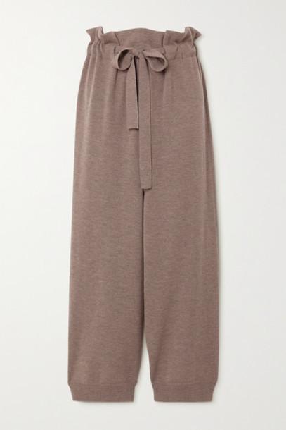 LE 17 SEPTEMBRE - Wool Pants - Brown
