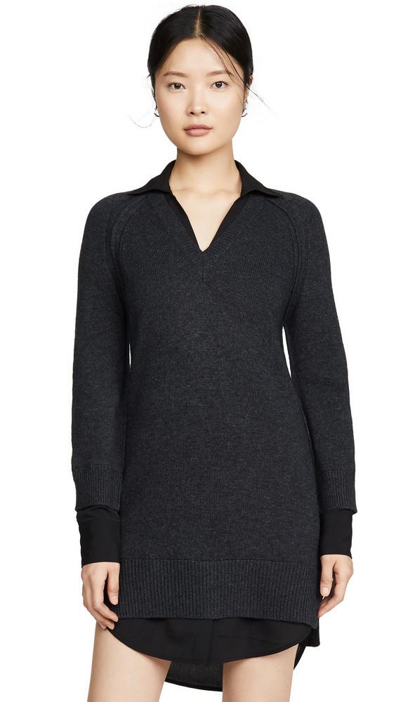 Brochu Walker V Looker Dress in black / charcoal