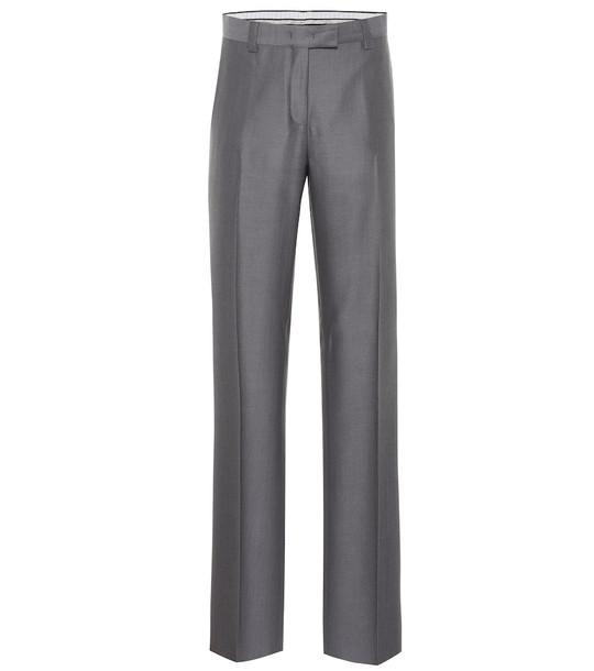 Salvatore Ferragamo Wool pants in grey