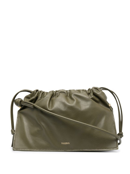 Yuzefi Bom leather cross-body bag in green