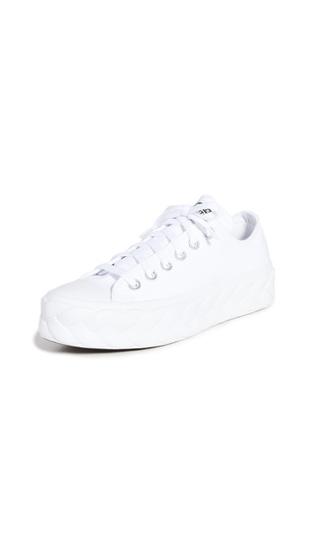Converse Chuck Taylor All Star Lift Cable Ox Sneakers in black / white