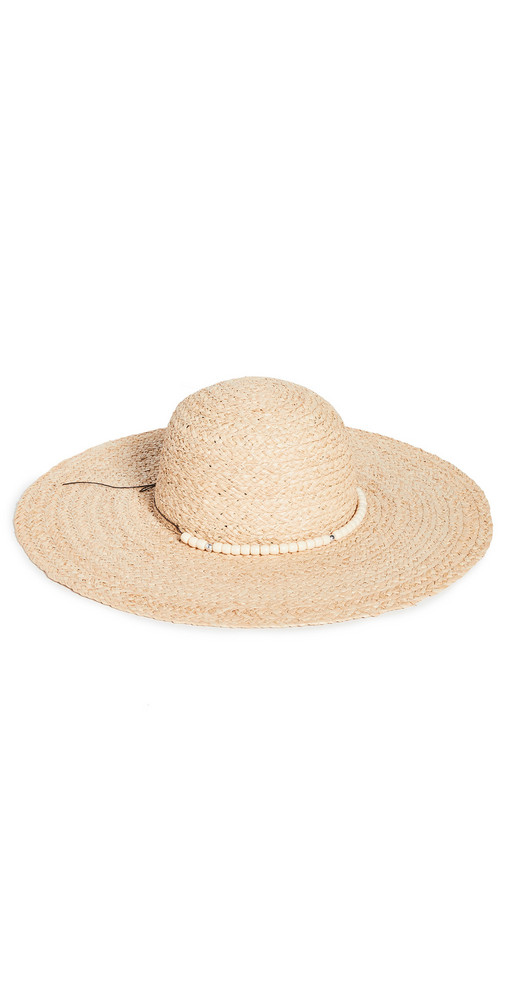 Hat Attack Avalon Sunhat in natural / ivory