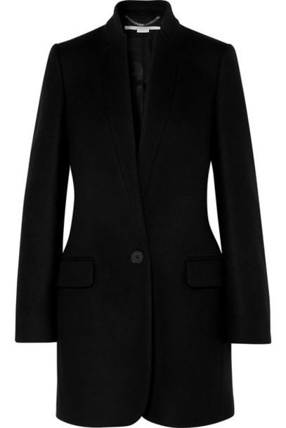 Stella McCartney - Bryce Wool-blend Coat - Black